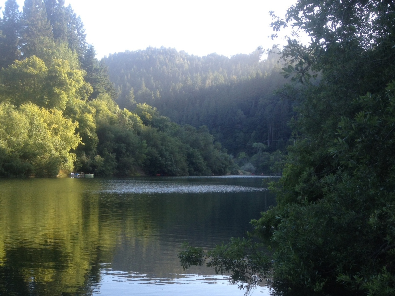 Lucky bend lookout a modern family friendly russian river for Russian river cabins guerneville