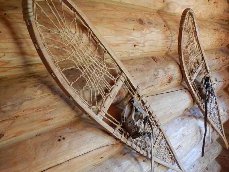 Our friend's snowshoes.  A great addition to the house!