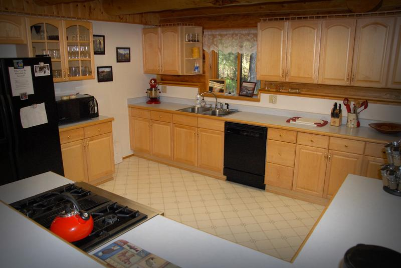 You'll have ample room in our kitchen to prepare meals for your group.