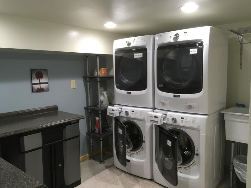 The laundry room.  Brand new in 2017!