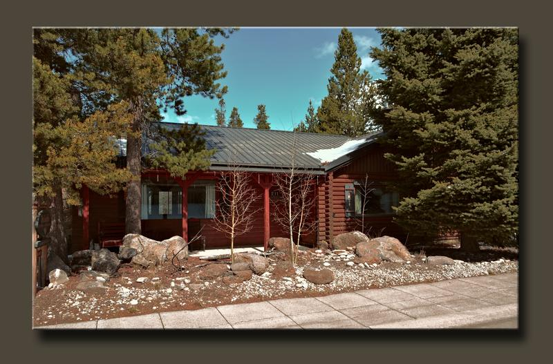 Cabin vacation rental West Yellowstone